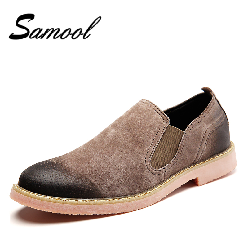 Vintage Suede Leather Autumn Shoes Men Chelsea Boots Fashion Luxury Brand Mens Boots Male Brand Ankle Boots bota masculina AX5 ...