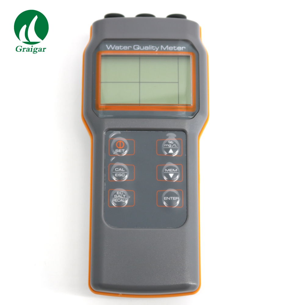 AZ8603 Water Quality meter Dissolved oxygen tester PH meter PH Conductivit Salinity Temperature meter
