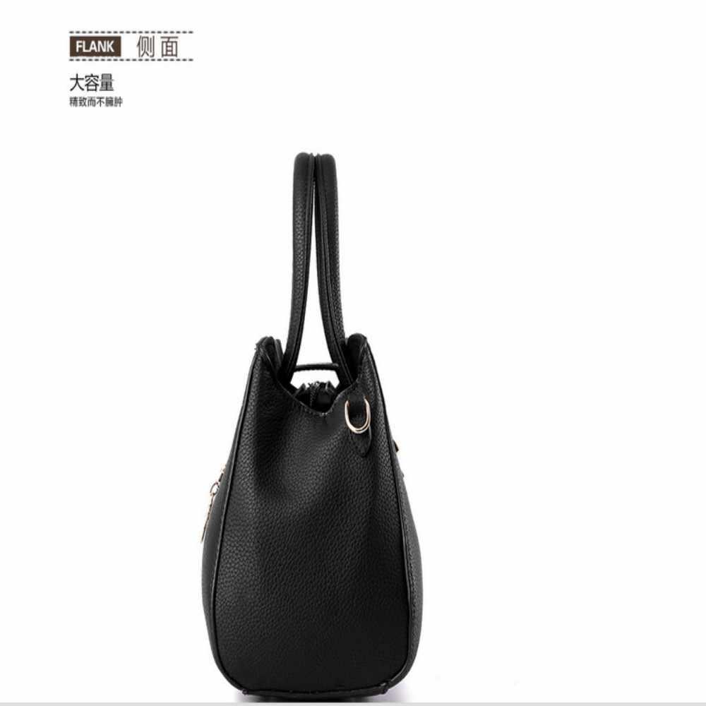 100% 本革の女性 2019 新ファッションハンドバッグクロスボディショルダーバッグ女性のメッセンジャーバッグ水デザイン