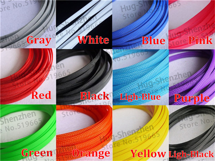 Electrical Cable Cover of Braided Expandable Sleeving DIY Pet ...