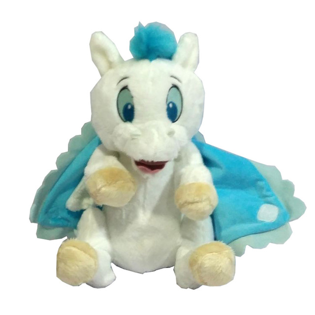 Hercules Babies Pegasus With Blanket Swaddle Towel White Horse Plush Toy Stuffed Animals 25CM 10'' Baby Kids Toys for Children