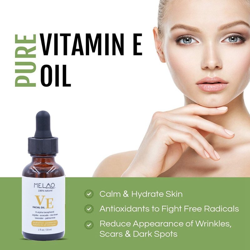 Nature Pure Vitamin E Essential Oil Removing Wrinkle Fine Lines Moisturizing Skin Care Hair Care Essence Oil 30ml