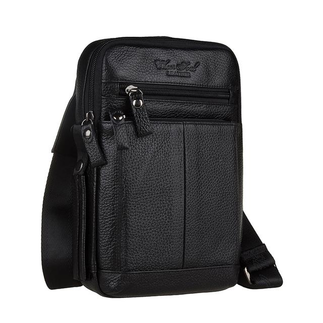 2015 new arrival dois tamanho 100% couro genuíno dos homens sacos de viagem saco dos homens messenger ombro com alta qualidade