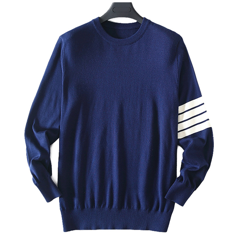 ZHILI Men's Sleeve Long Pullover Sweater 100% Cotton