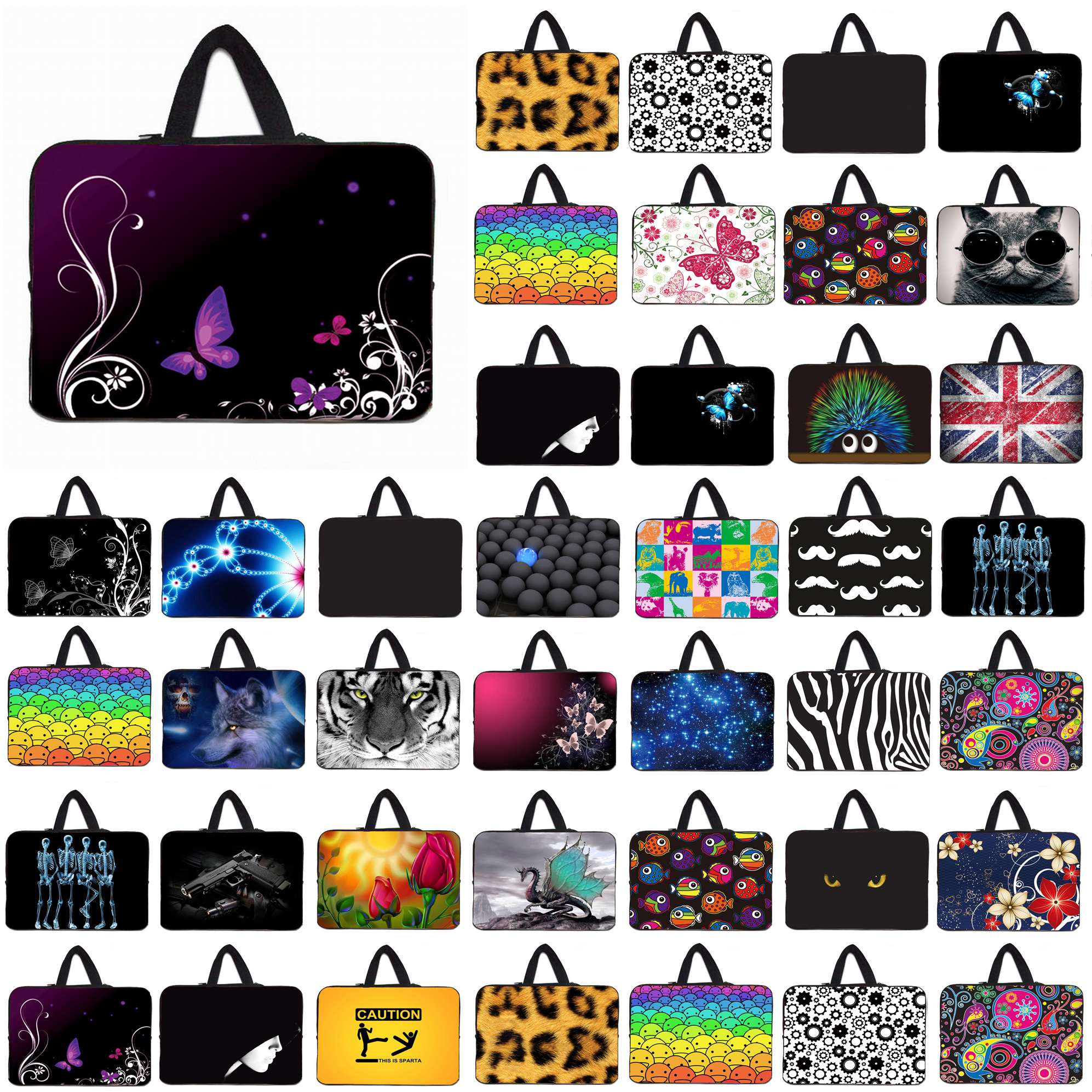 10 Mini PC Tablet 10.1 12 13 14 15 16 17 Neoprene Netbook Laptops Briefcase Protect Shell Cases Bags For Macbook Chuwi Xiaomi