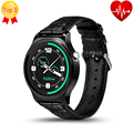 2017 New GW01 Smart Watch MTK2502 Bluetooth Heart Rate Monitor Smartwatch Clock 1.30 inch TFT Full IPS Screen for IOS Android