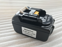 New 4000mAh Emergency Rechargeable Lithium-Ion Replacement Power Tool Battery for Makita 18V BL1830 BL1840 LXT400 194205-3 new original 18v 3000mah li ion rechargeable battery pack replacement power tools batteries for makita bl1830 bhp451 wholesale
