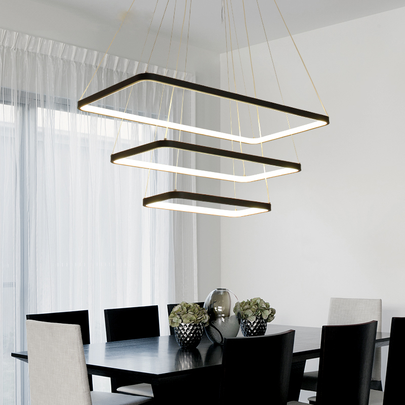 Umeiluce Modern Led Pendant Lights Restaurant Living Room Aluminum Light Fixtures Dimmable Hanging Lamp AC90-260V Wi-Fi Smart