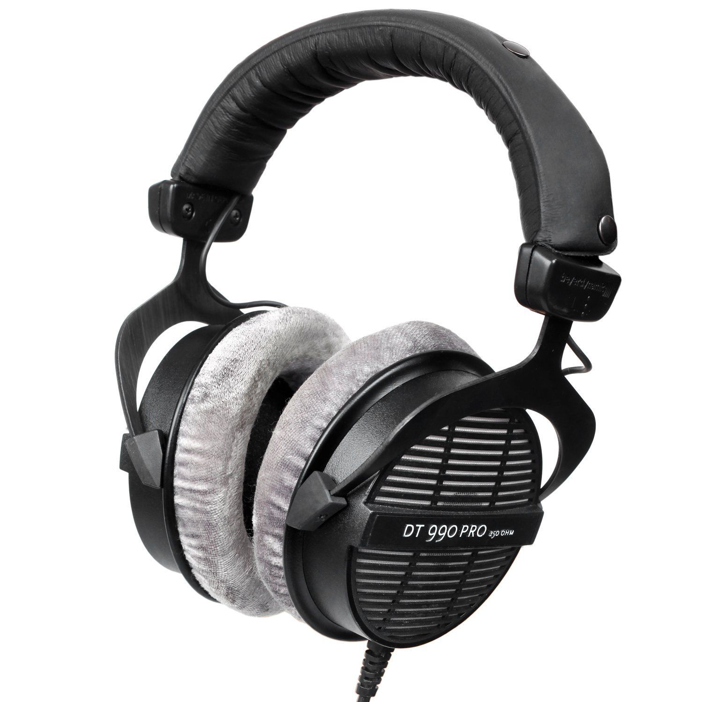 Beyerdynamic DT 990 Pro 250 Ohm Hi-Fi Headphones, Professional Studio Headsets, Open Back Headband Headpones Made In Germany