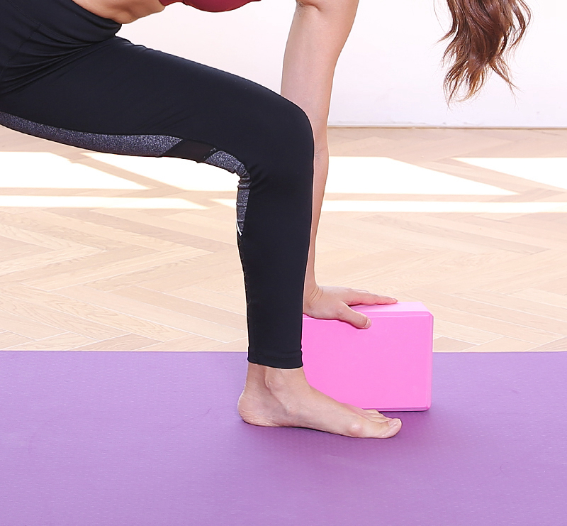5 Colors Pilates EVA Yoga Block Brick Sports Exercise Gym Foam Workout Stretching Aid Body Shaping Health Training (10)