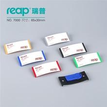 """10 יחידות/1 מארז ABS 70*30 מ""""מ Reap7000 תגי מגנט בעל תג כרטיס תג שם מגנטי מזהה עבודת מחזיקי כרטיס עובד"""