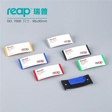 10 pièces/1 Lot Reap7000 ABS 70*30mm porte badge magnétique porte badge aimant porte carte porte carte didentité travail carte demployé