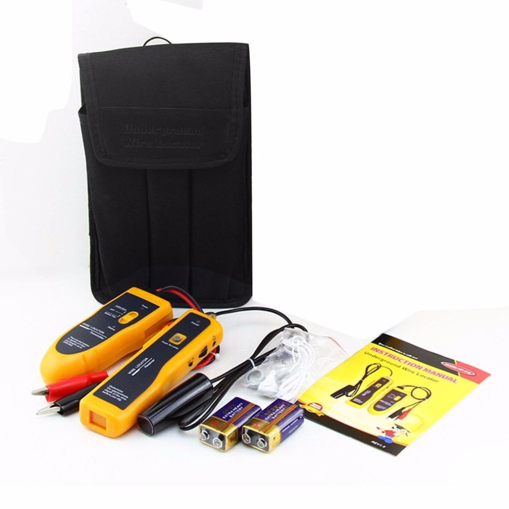 Noyafa Underground Cable Locator RJ11 RJ45 Cable Finder Telephone Ethernet Network Cable Testing Tool Wire Locator multi function rj11 telephone and rj45 network cable crimping tool with cable stripper