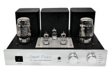 XiangSheng SP-KT100 Multifunctional Merged Single-ended Class A Tube Headphone Amplifier Built-in USB DAC MM Phono Preamp 3W*2