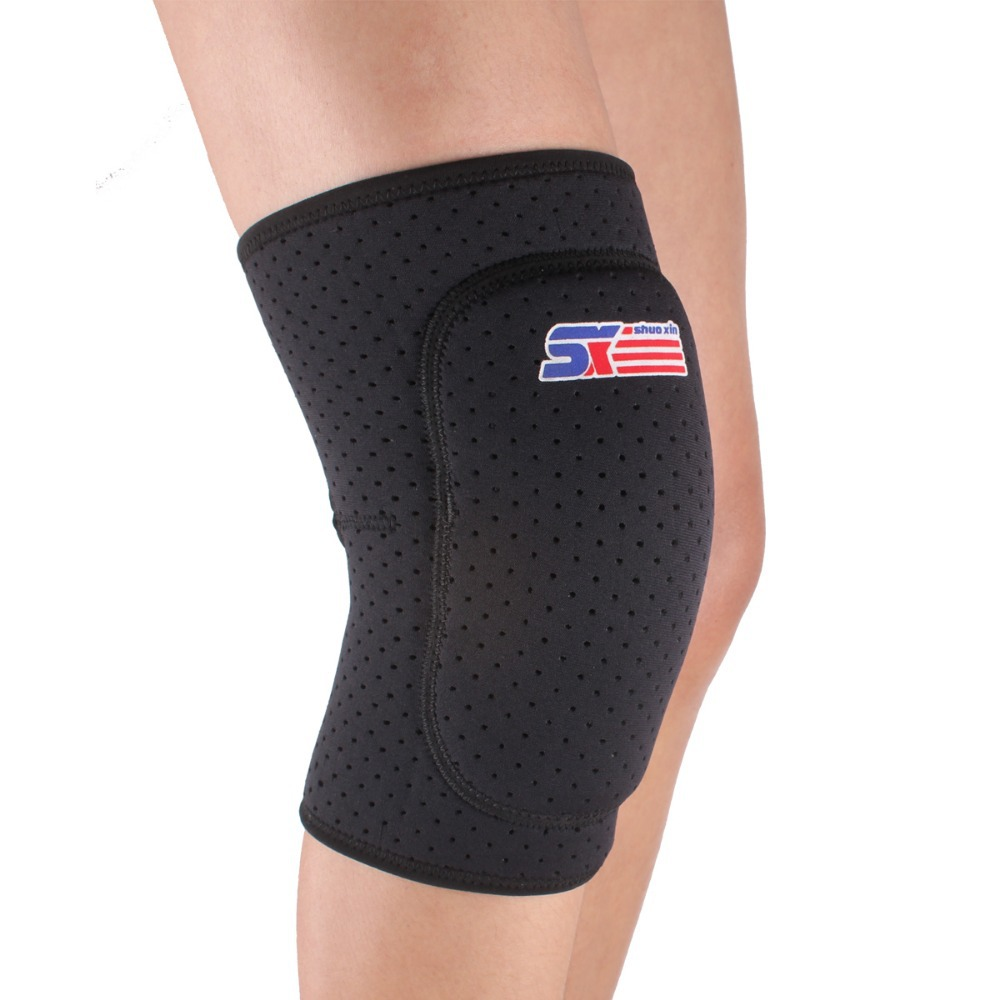 2018 New Arrival Real Knee Pads Kinesiology Tape Sx614 Sport Leg Knee Patella Support Brace Wrap Protector Pad Sleeve Thicken -
