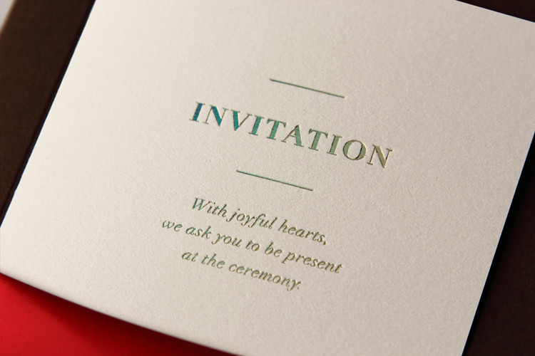 Aliexpress Three Color Wedding Invitation Cards With Purple Ribbon Printing Laser Cut Invitations 50pcs From Reliable