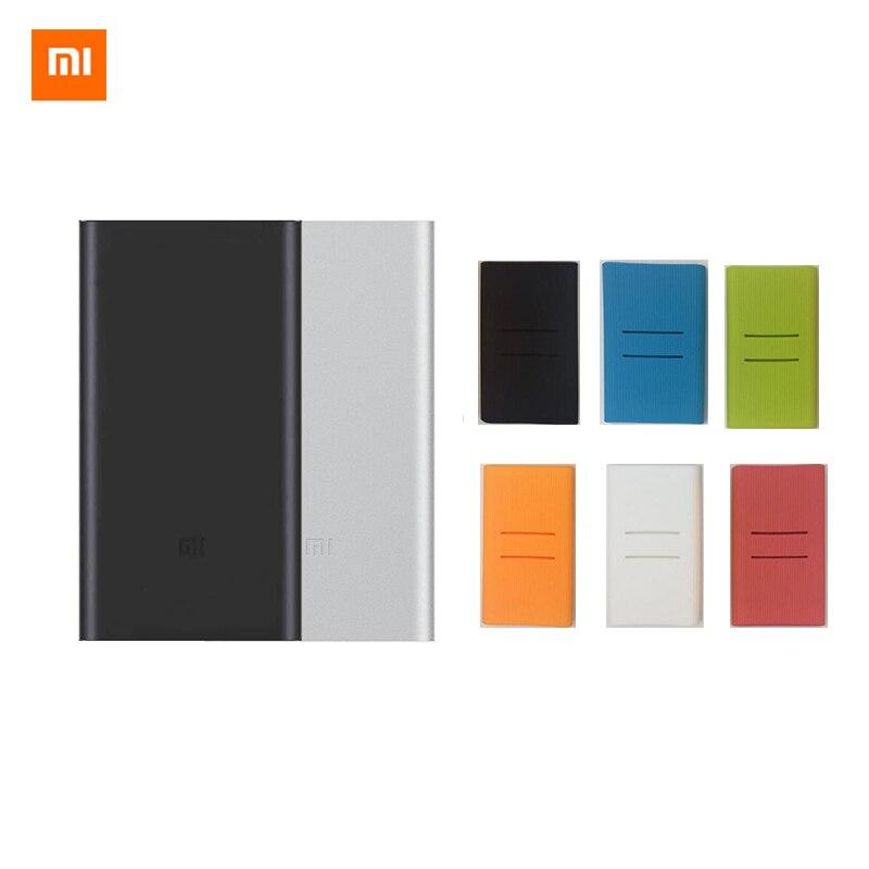 Originais Xiaomi Mi Power Bank 2 10000 mAh Carga Rápida 10000 mAh Powerbank Suporta 18 W Rápido Carregamento de Bateria Externa Pack