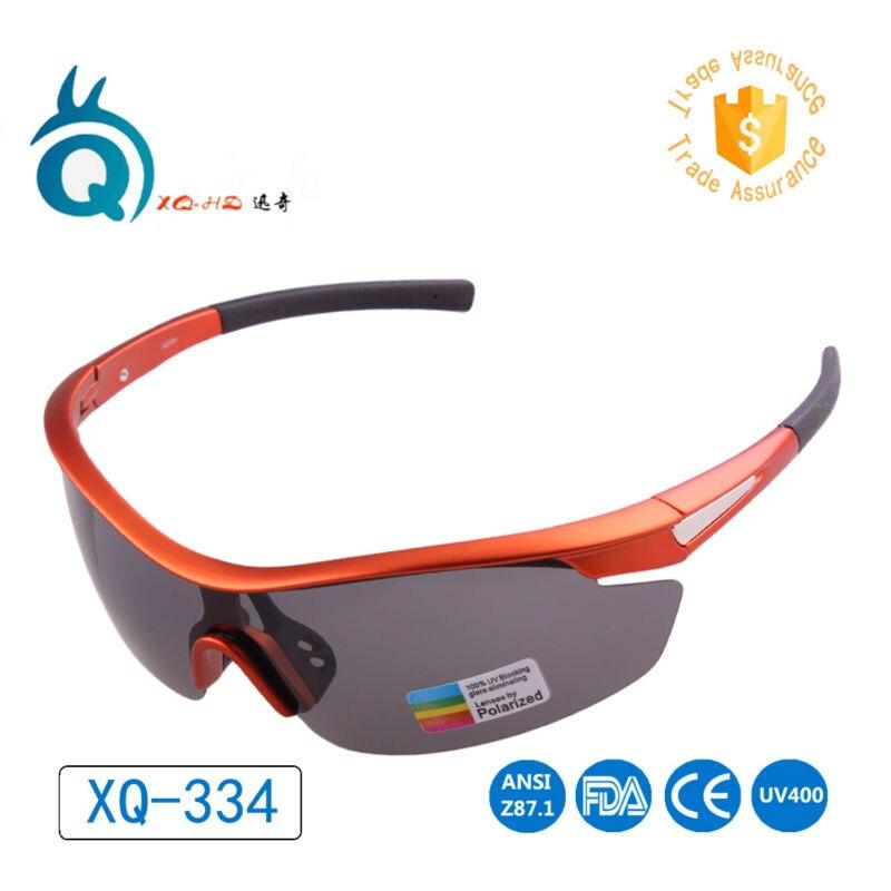 Prix pour Livraison gratuite Europe orange cyclisme randonnée équitation Lunettes De Soleil Polarisées gris lentille homme femmes lunettes unisexe vélo sport lunettes de soleil