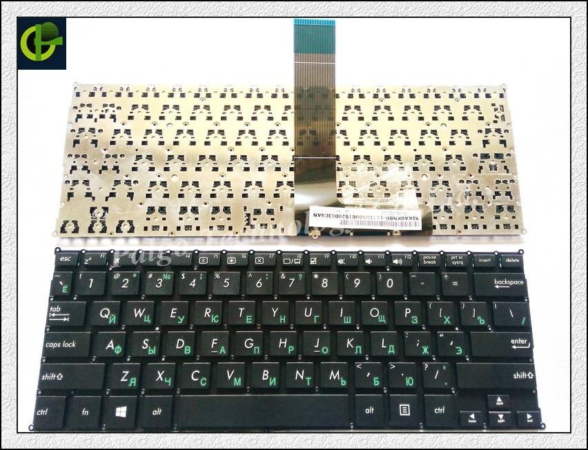 Russian Keyboard for ASUS F200 F200CA F200LA F200MA X200 X200C X200CA X200L X200LA X200M X200MA R202 R202CA R202LA RU Black все цены