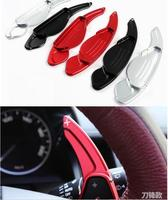 DEE Aluminium Steering Wheel Shift Paddle Shifter Extension For Range Rover Evoque Discovery Sport Modify Decorate Sticker