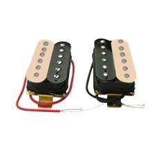 50 мм+ 52 мм хамбакер звукосниматель электрогитары набор звукоснимателей для Stratocaster Стиль гитары Замена