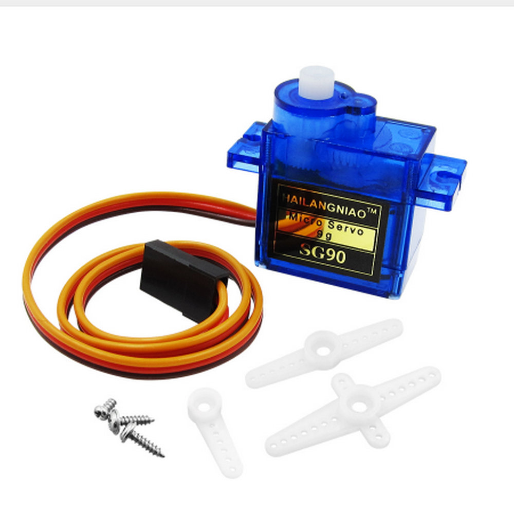 1PCS HWAYEH Rc Mini Micro 9g 1.6KG Servo SG90 for RC 250 450 6CH For Helicopter Airplane Aeroplane Car Boat