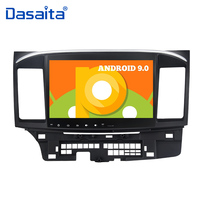 Android 9.0 Car Autoradio for Mitsubishi Lancer 10 EVO 10.2 IPS Multi Touch Screen Car Stereo Multimedia Navigation GPS MP3