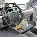 Auto negro Laptop Tray Table Stand volante Volante de Montaje de Escritorio Del Recorrido Del Carro Del Coche SUV
