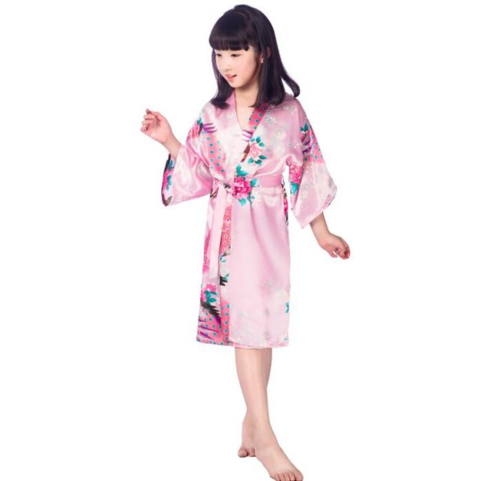 silk kimono robes (4)