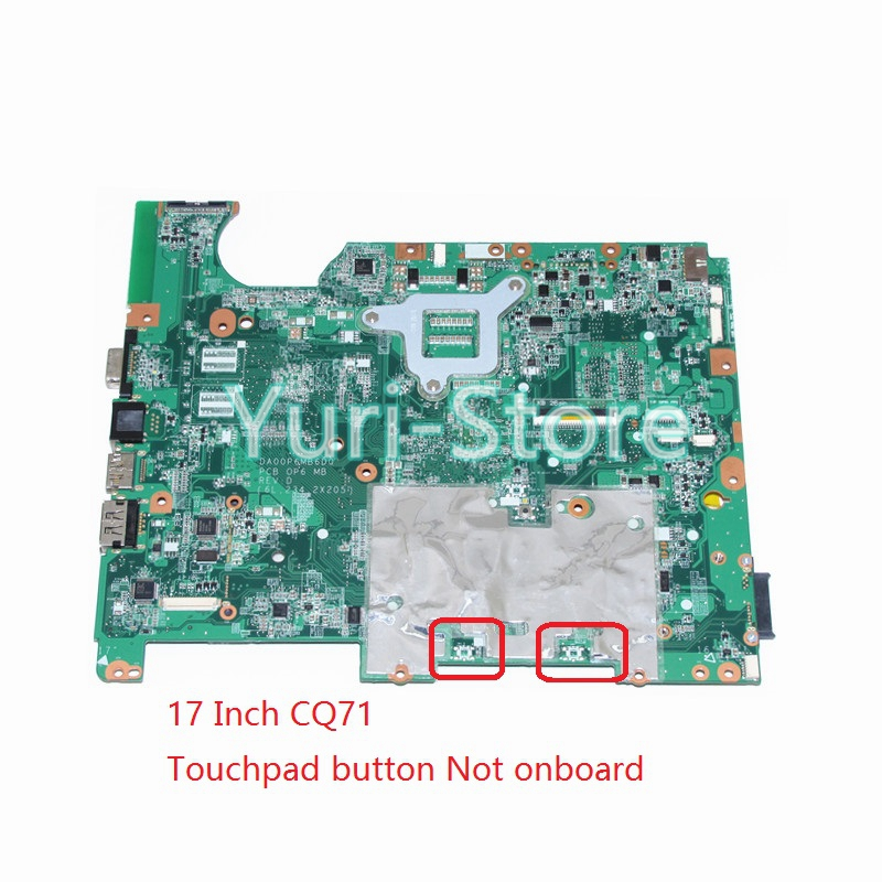 NOKOTION Laptop Motherboard for HP compaq presario CQ71 G71 DA00P6MB6D0 578701-001 GM45 HD graphics DDR2 hp compaq presario cq57 383er qh812ea в рассрочку минск