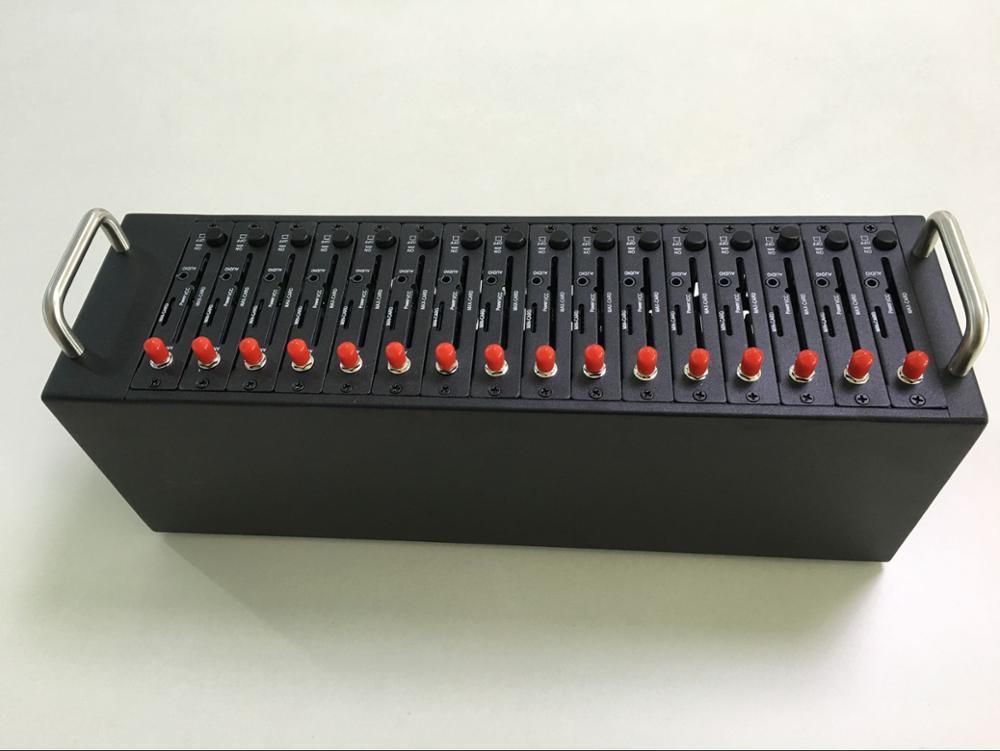 Wavecom 16 портов Q2303 пул модемов с самым дешевым gsm модуль sms масса gsm-модем SIM коробка SIM бассейн
