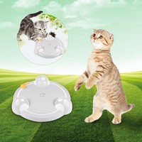 2018 Newest Funny Cat Toys Pet Toy Cat Teaser Electric Scratch Board Mouse Plate (Without Battery, Please Prepare By Yourself)