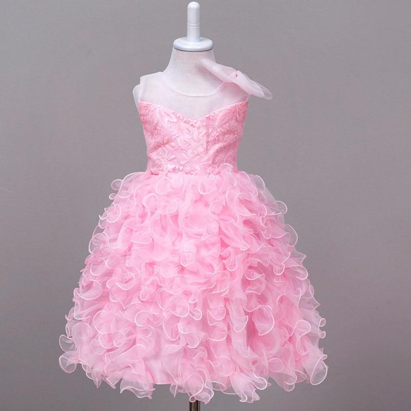 Vestido de novia Para Las Muchachas 2 3 4 5 6 7 8 9 10 11 Años ...