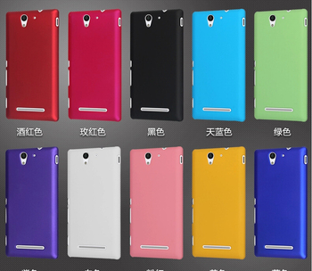 For Sony Xperia C4 Cover,New Rubber Hard Back Cover Case For Sony Xperia C4,High Quality,Free Shipping