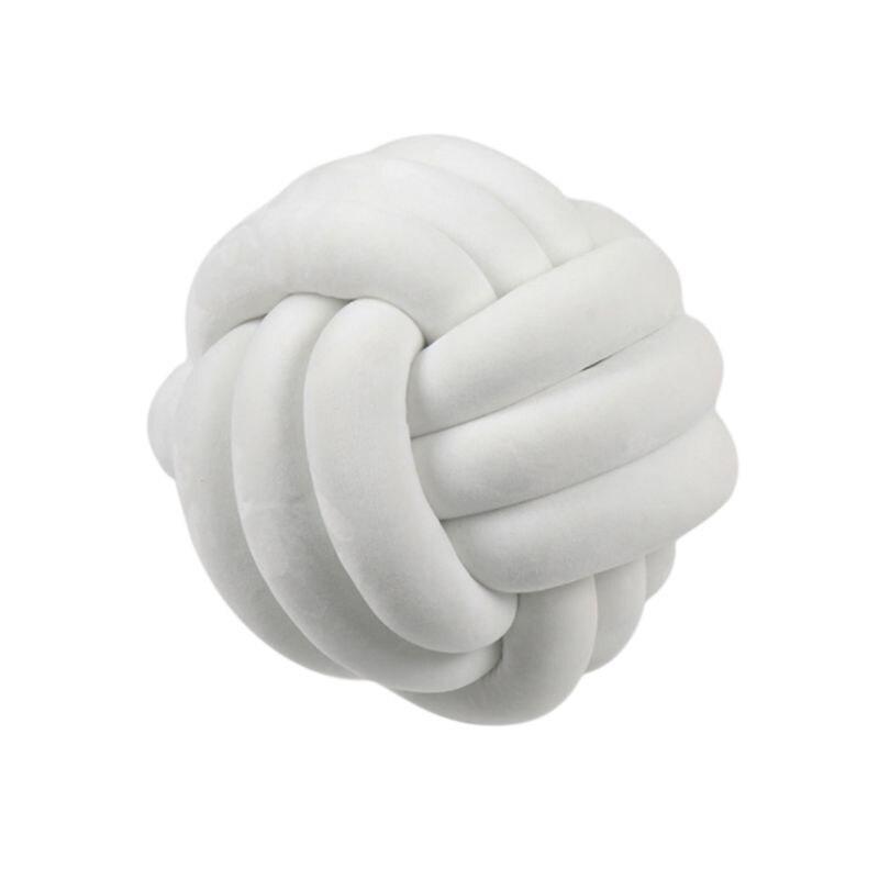 HTB1f.5jXNv1gK0jSZFFq6z0sXXaB Soft Knot Ball Cushions Bed Stuffed Pillow Home Decor Cushion Ball Plush Throw