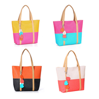 2014 New Han Edition Women S Lovely Candy Handbag Lady S PU Leather Shoulder Bag 4