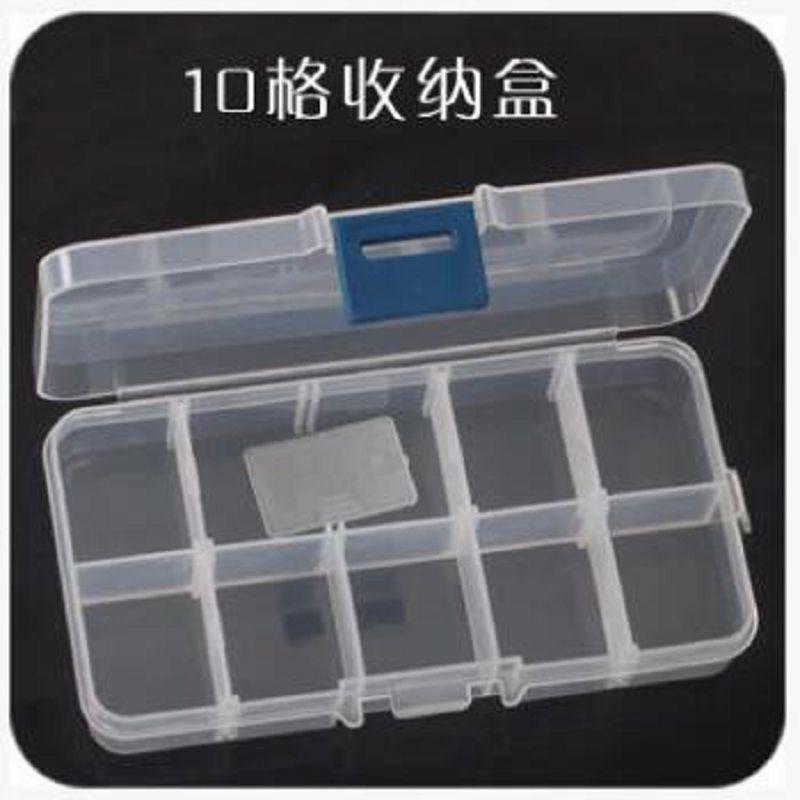 10 cellás tároló doboz ékszerdoboz cajas organizadoras rendező - Szervezés és tárolás - Fénykép 3