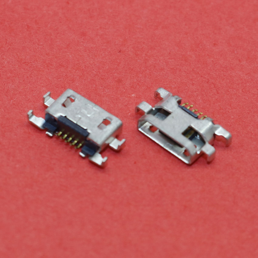 ChengHaoRan Micro <font><b>USB</b></font> Jack Female Socket connector 5P phone <font><b>charging</b></font> <font><b>port</b></font> for <font><b>Nokia</b></font> <font><b>lumia</b></font> <font><b>625</b></font> 1320,MC-259 image