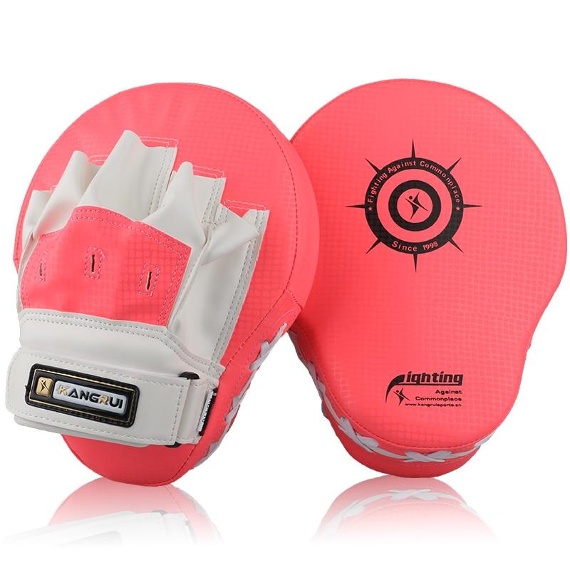 Muay Thai MMA Boxing Punching Pads Material Kick Sanda Gloves Training Focus Pad