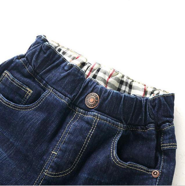 Boy's Elastic Waist Jeans