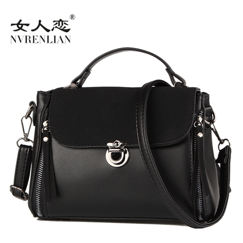 NVRENLIAN Women Shoulder Bags Fashion PU Leather Shoulder Bags Small Casual Female Crossbody Bag Vintage Ladies Tote sgarr fashion pu leather casual tote bag famous brands small women embroidery handbag shoulder bags luxury female crossbody bag