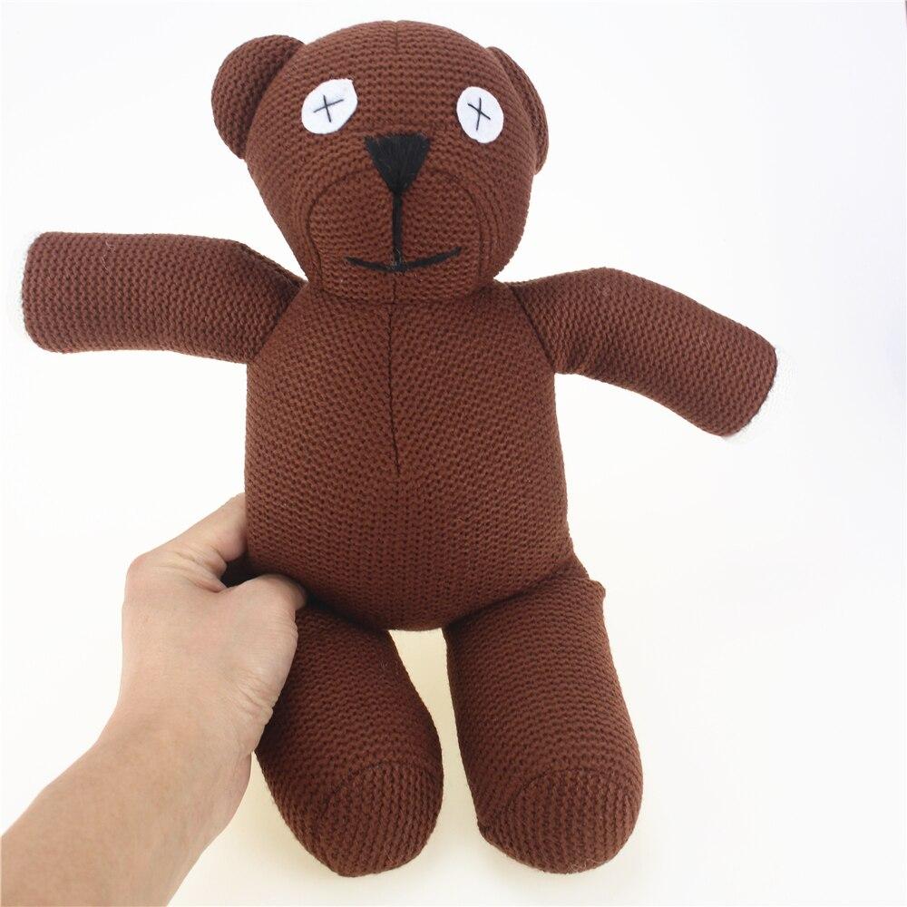 35 см Мишка Набивные плюшевые игрушки мишка чучела плюшевый мишка Куклы милые плюшевые Игрушечные лошадки