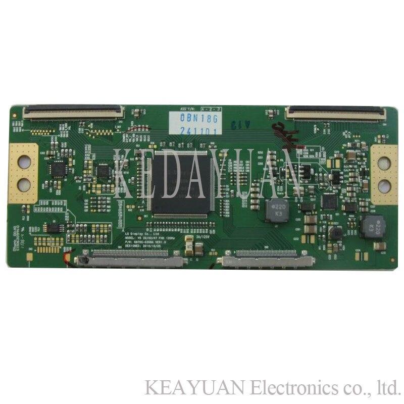Free Shipping Original 100% Test  For LG LCV6 32/42/47 FHD 120Hz 6870C-0358A Logic Board