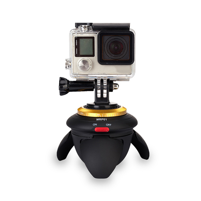 Bluetooth 360 Time Lapse  Rotator Tripod for Camera and Phone