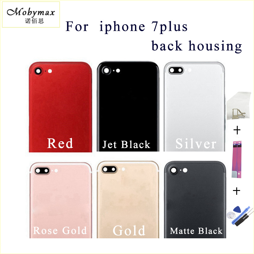 For iPhone 7 Plus Back Housing Battery Cover Rear Door Case Middle Chassis 7P Replacement For Apple iPhone 7 Back Housing