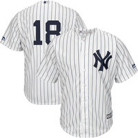 MLB Men S New York Yankees Didi Gregorius Majestic White Home Official Cool Base Replica Player