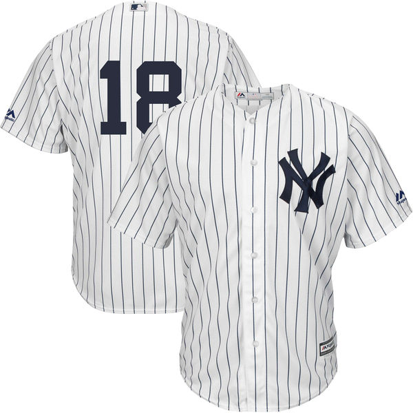 Men's New York Yankees Didi Gregorius Majestic White Home Official Cool Base Replica Player Jersey