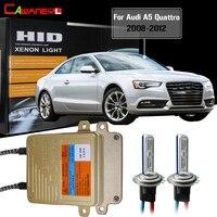 Cawanerl 55W H7 No Error HID Xenon Kit AC Ballast Bulb 3000K 8000K For Audi A5 Quattro 2008 2012 Car Light Headlight Low Beam