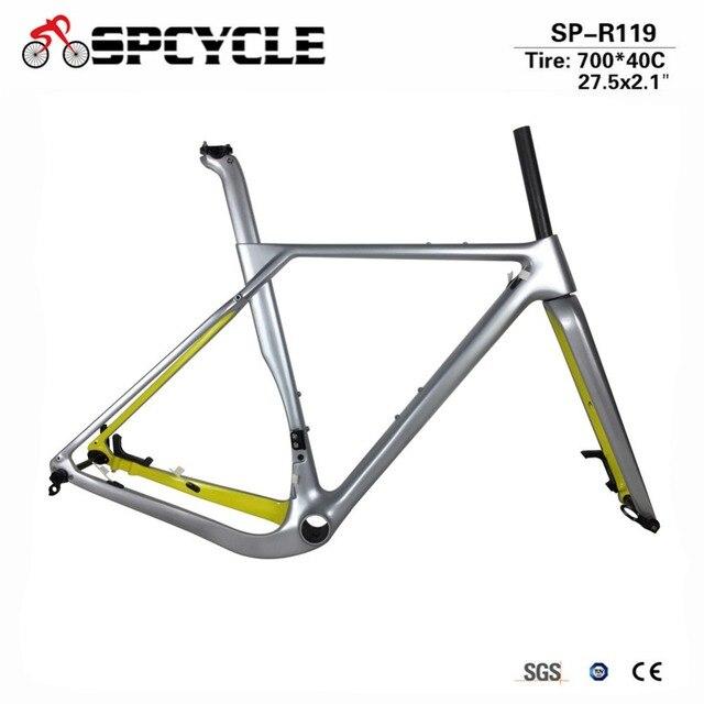 Aliexpress.com : Buy Spcycle Carbon Gravel Frame Aero Carbon ...