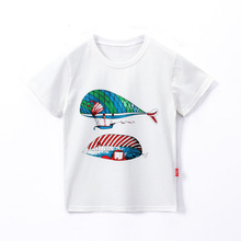 цена на T shirt for boys summer clothes Kids clothing for boy Children cotton short sleeve t-shirt